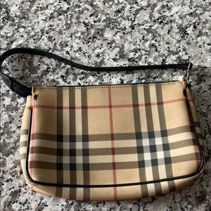 Burberry clutch pochette